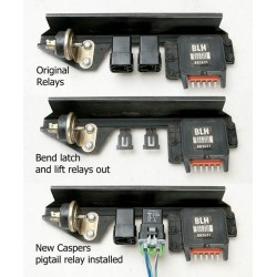 Relay Upgrade Kit 84/87 GN A/C Relay AC Relay