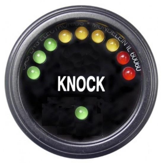 Knock Gauge - Black Face / Black Trim