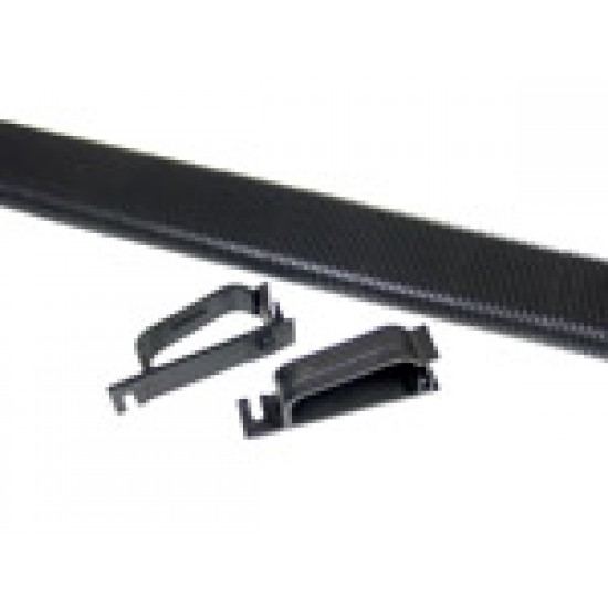OVAL Conduit & Clips - PLASTIC